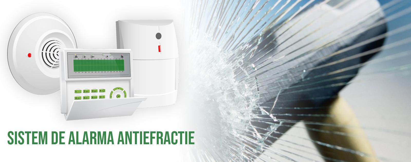 sistem de alarma antiefractie