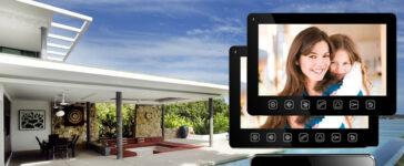 Securitate casa cu un videointerfon